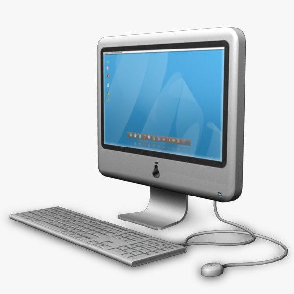3d Model Modern Computer