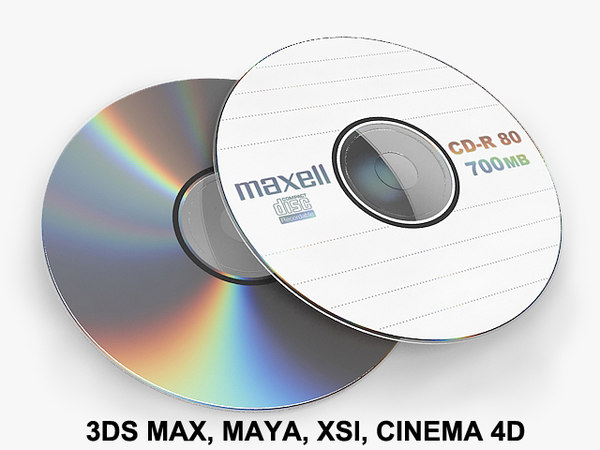 CD DVD disc 3D Models