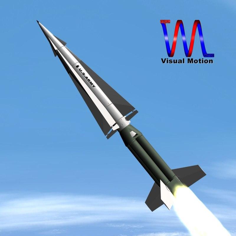 US Army Nike Hercules Missile