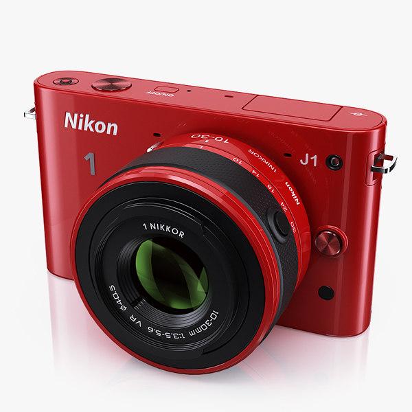 Nikon 1 J1 3D Models