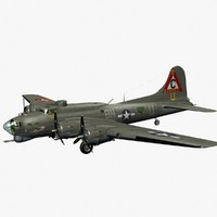 Boeing B-17 Flying Fortress 3D models