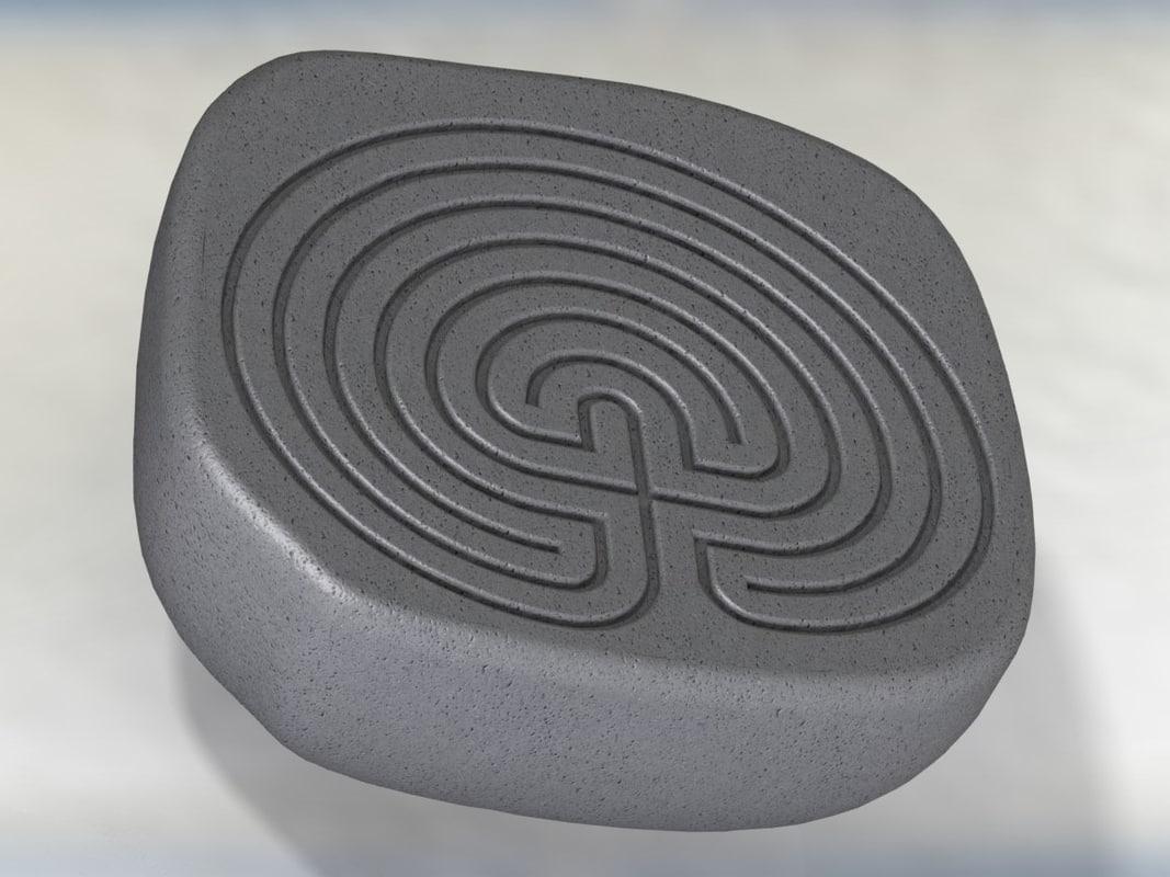 Classic celtic maze