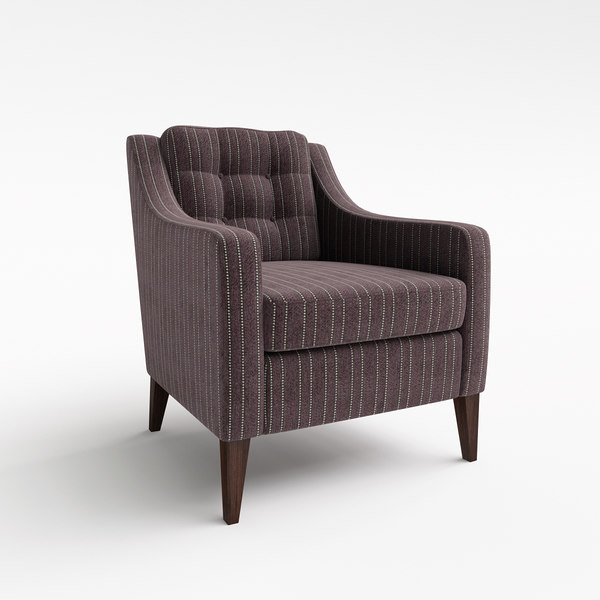 Hill Cross Furniture - Ingleton Armchair 3D Models