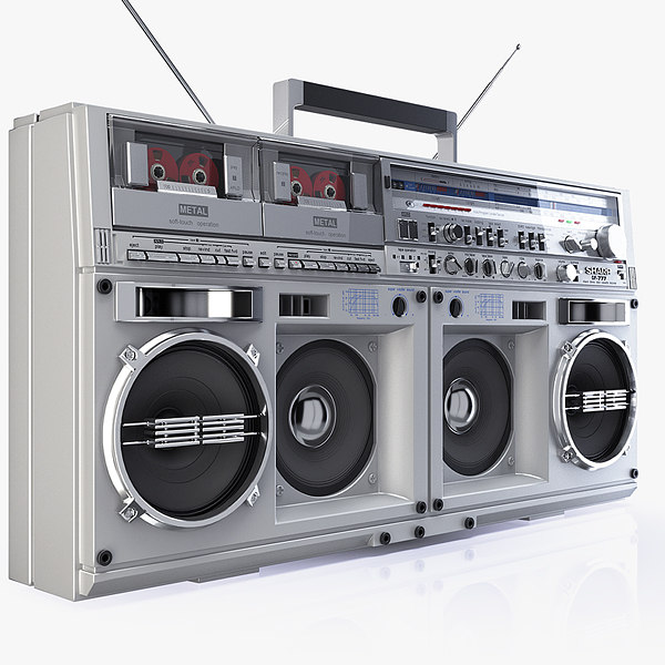 Boombox SHARP GF 777 3D Models