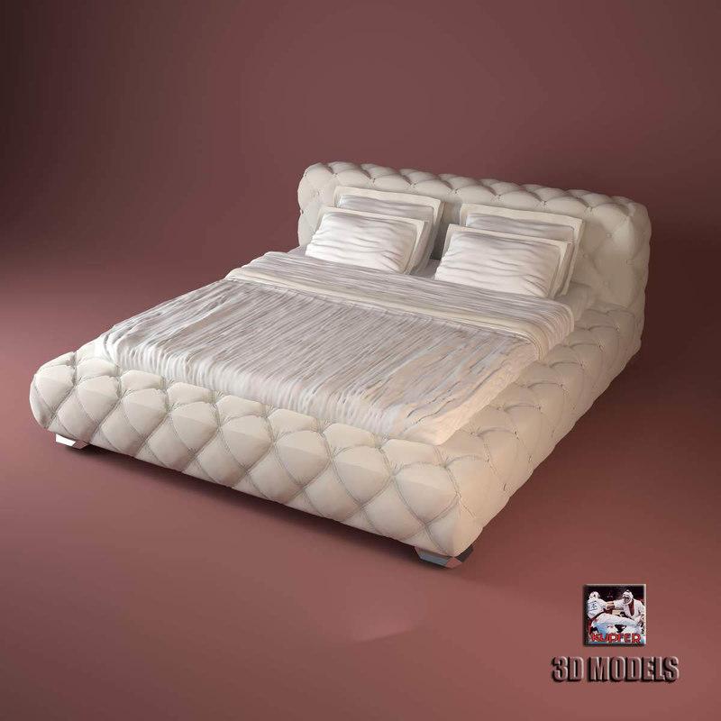 Visionnaire Teodosio Bed