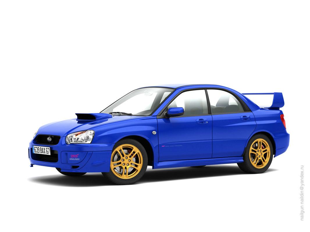 Subaru Impreza WRX STI `03