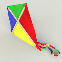 kite 3d models