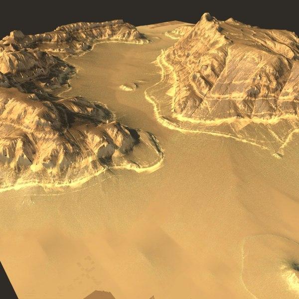 Canyon_terrain 3D Models
