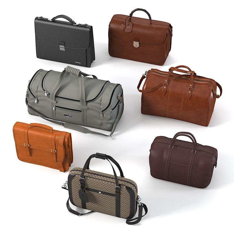 Mens bag set handbag  briefcase case travel sport0001.jpg
