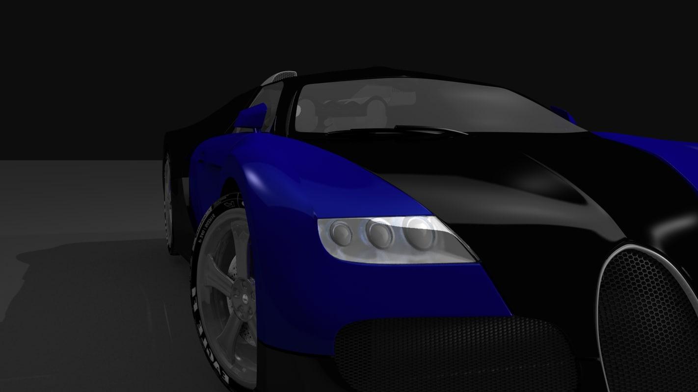 bugatti veyron car tyres 3d model. Black Bedroom Furniture Sets. Home Design Ideas
