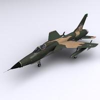 F-105 3D models
