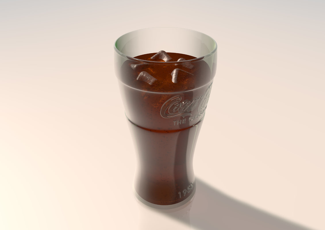 1955 Coke Glass