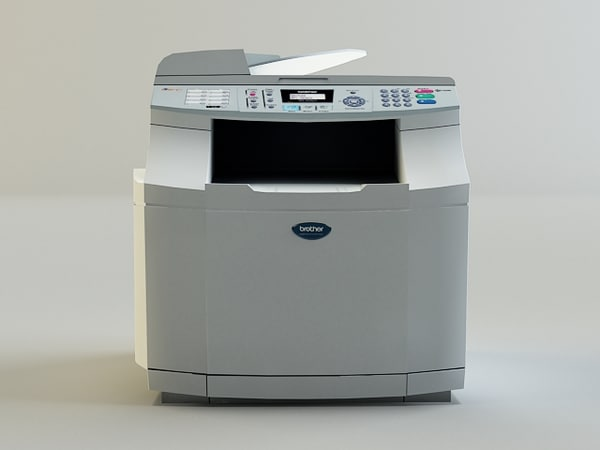 Copy Machine 3D Models