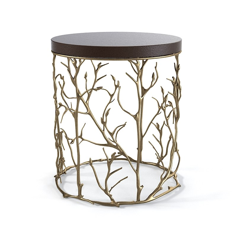 Koket Love Happens round side table branch tree art designer modern contemporary haute taste flora 0001.jpg