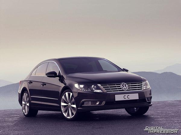 VW Passat CC 2013 3D Models