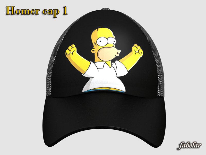 Homer Simpson cap 1