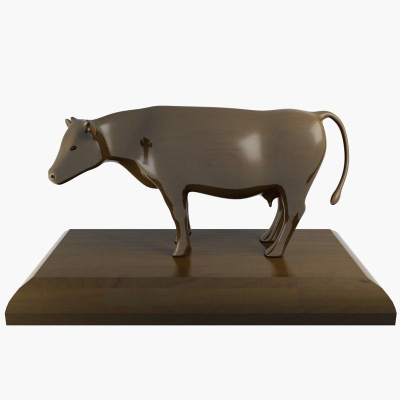 Ornament Cow