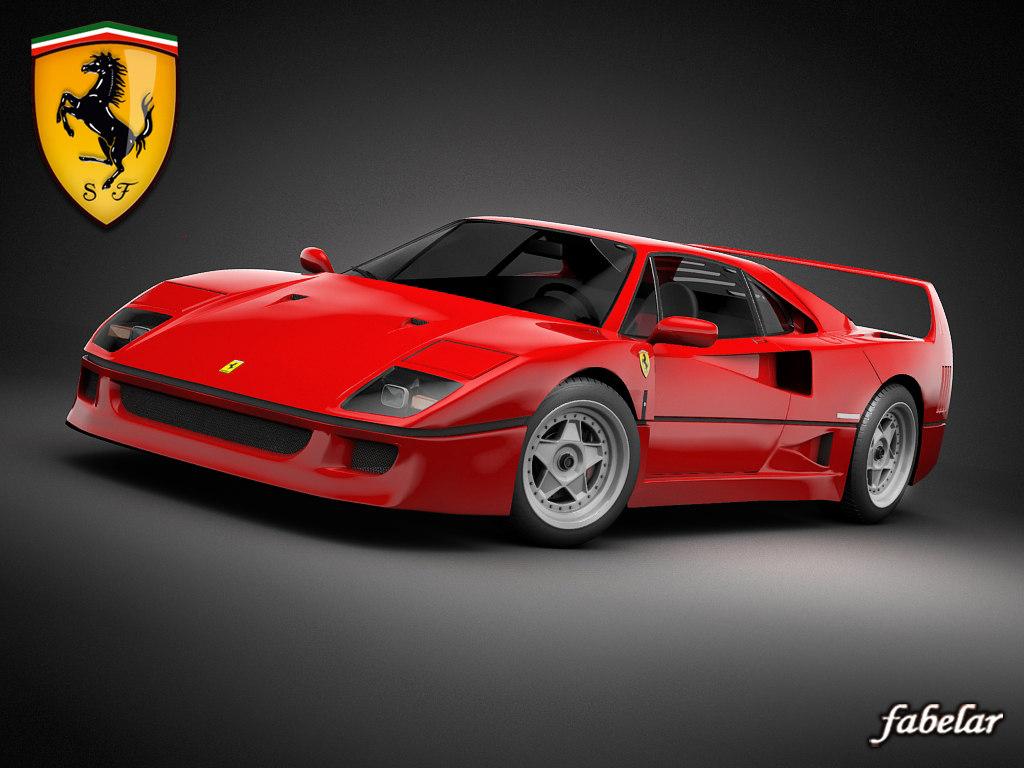 Ferrari F40 std mat