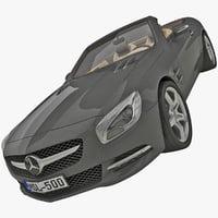 SL R231 3D models