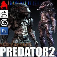 Predator 3D models