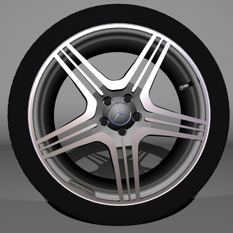 Mercedes Benz AMG wheel