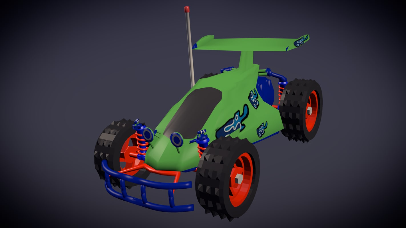 Toy Story Inspired  RC Car