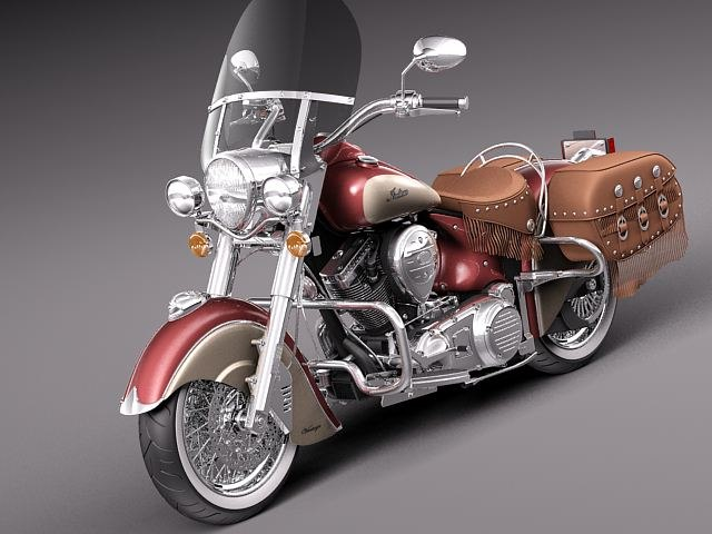 Indian Chief Vintage 2012 motorcycle