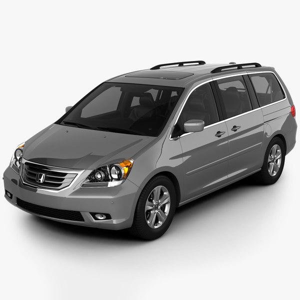 Honda Odyssey 3D Models