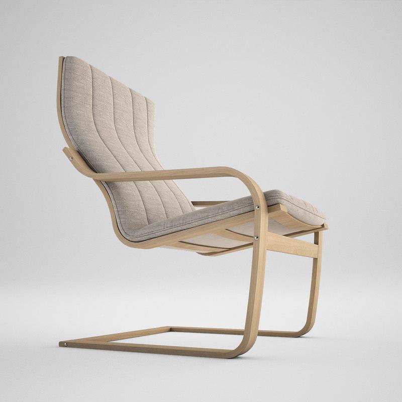 chair ikea 3d max. Black Bedroom Furniture Sets. Home Design Ideas