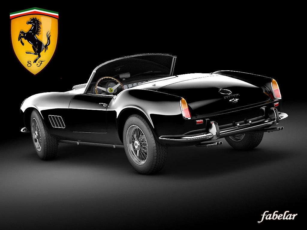 Ferrari 250 Cal STD MAT
