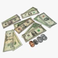 ten dollar bill 3D models