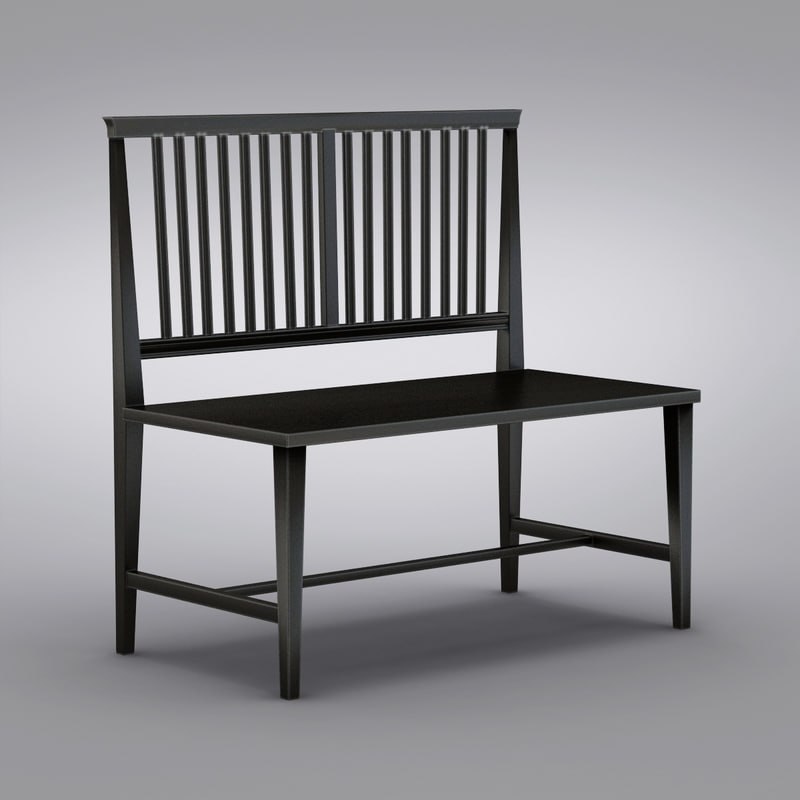 Village Black Armless Bench_0003.jpg
