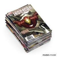 comic book 3D models