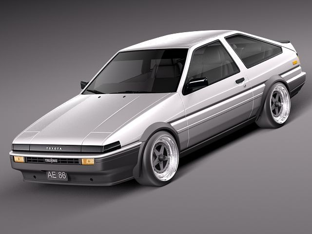 Toyota AE86 Levin 1983–1987