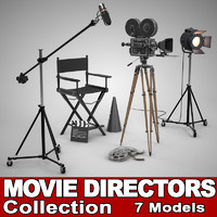 film reel 3D models