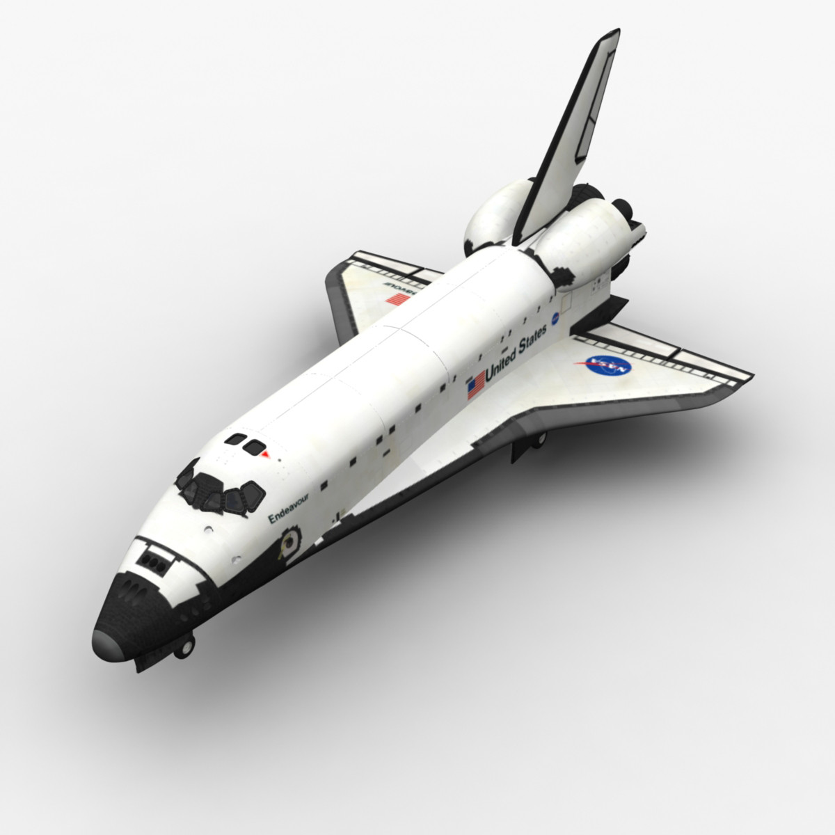 Space Shuttle with Cockpit