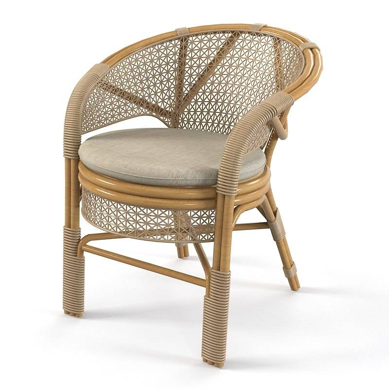 Wicker Outdoor Chair armchair cafe garden modern contemporary traditional 0001.jpg