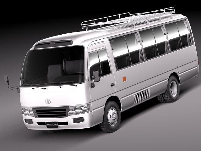 Toyota Coaster 2012 MINIBUS