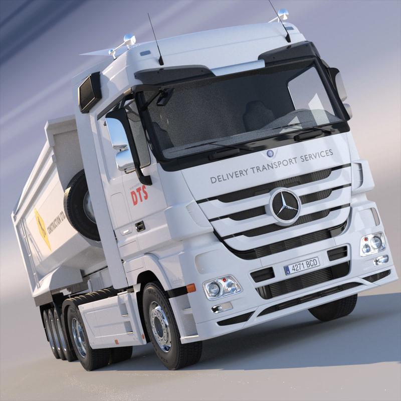 Mercedes Actros Dump Truck