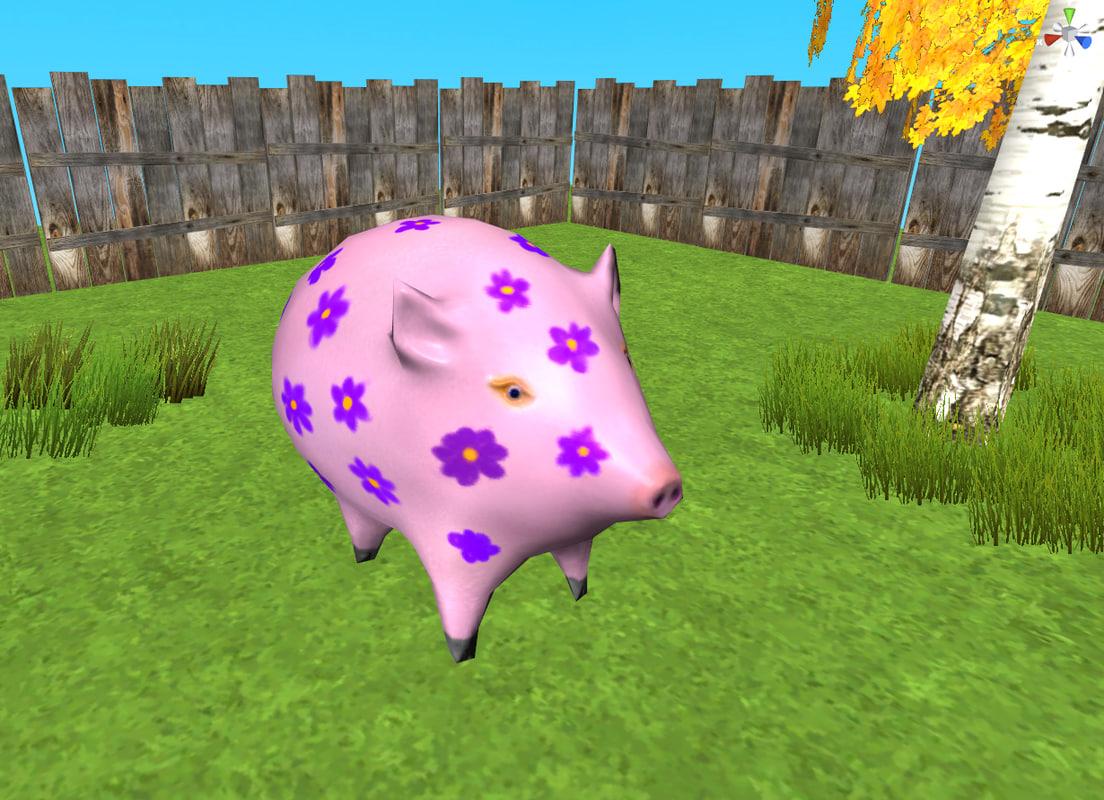 Flowery Pig
