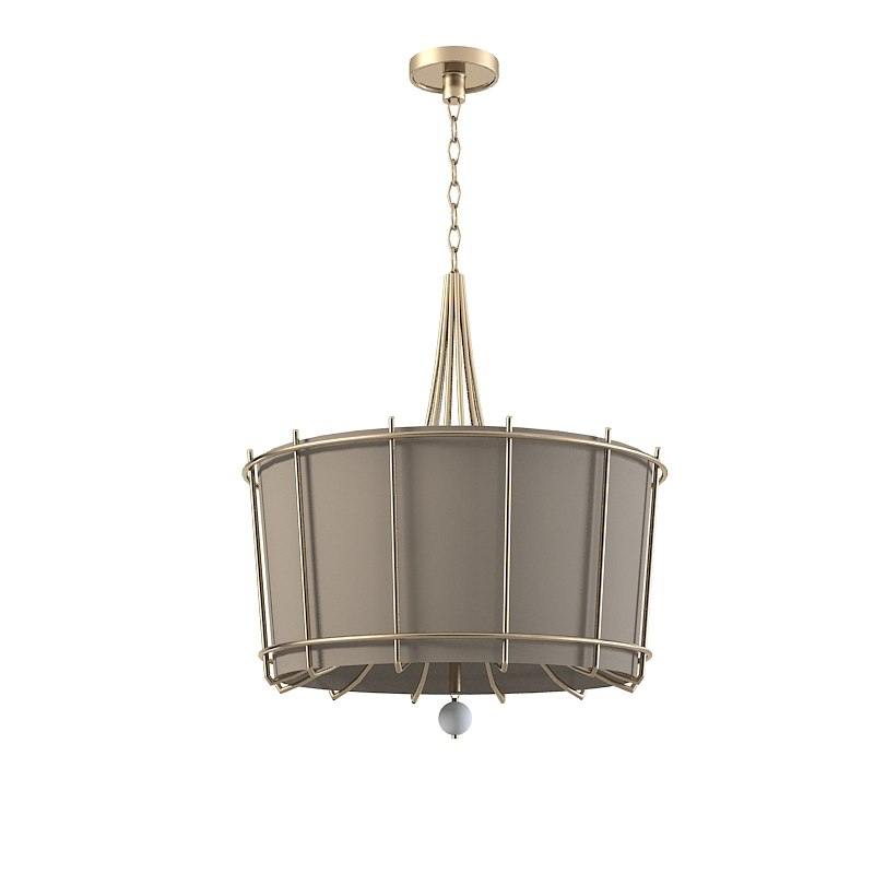 Baker bb309 Barbara Barry Enlightened chandelier ceiling pendant lamp modern contemporray round0001.jpg