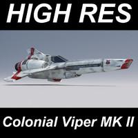 viper spacecraft 3D models