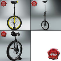 unicycle 3D models
