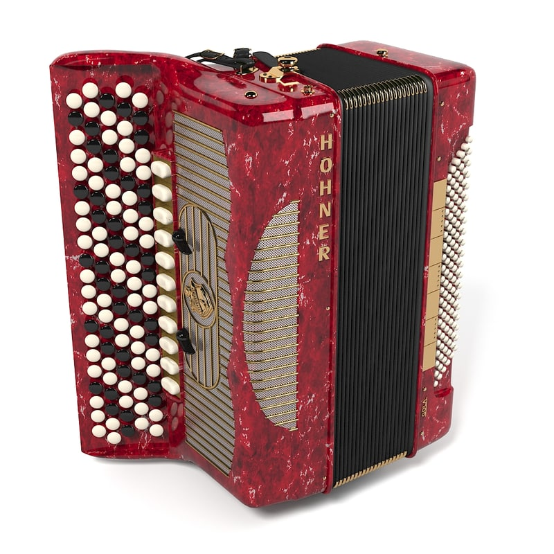 Button Accordion  musical instrument vintage retro piano harmonica 0001.jpg