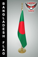 bangladesh flag 3D models