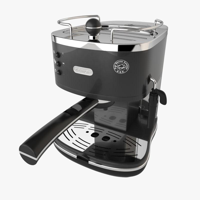 3d espresso coffee machine delonghi