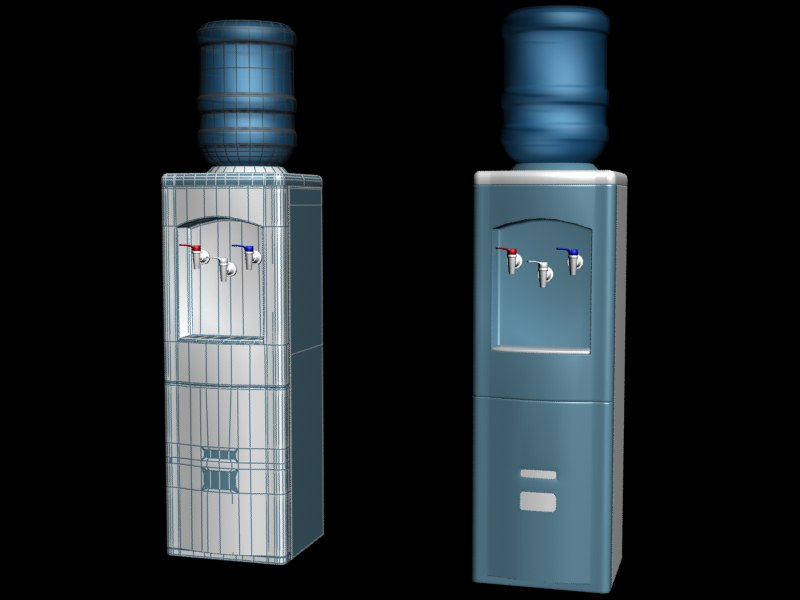water cooler 3d model download.png