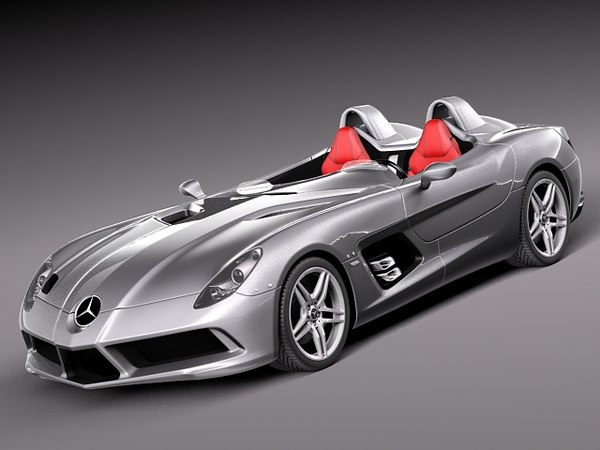Mercedes-Benz SLR Stirling-Moss 3D Models