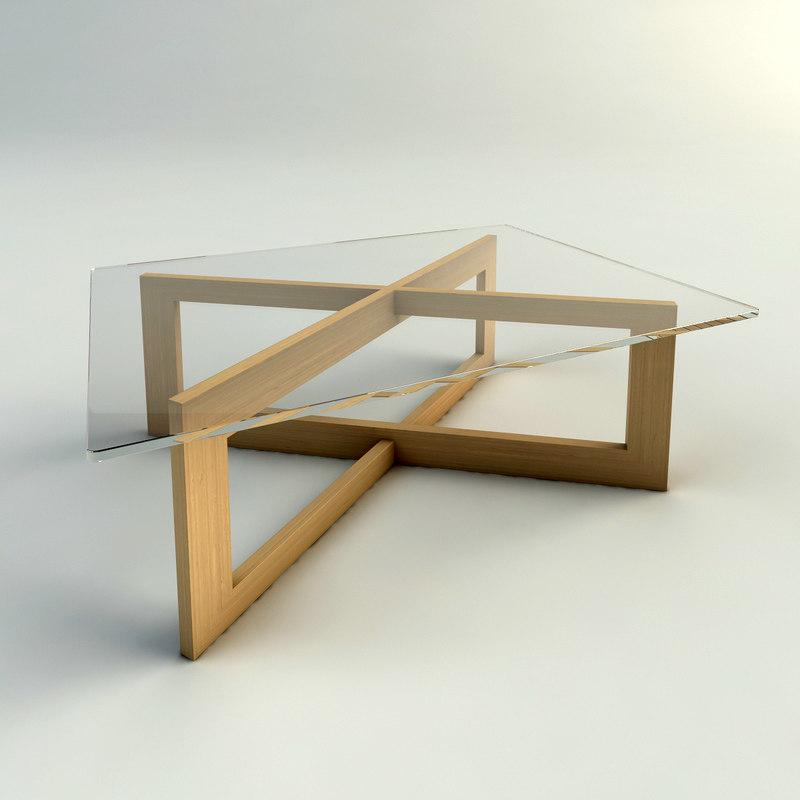 Maya Cross Coffee Table
