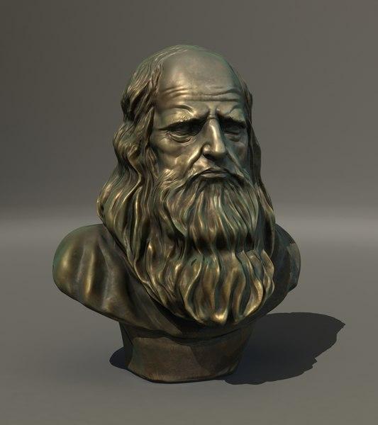 Leonardo Da Vinci 3D Models